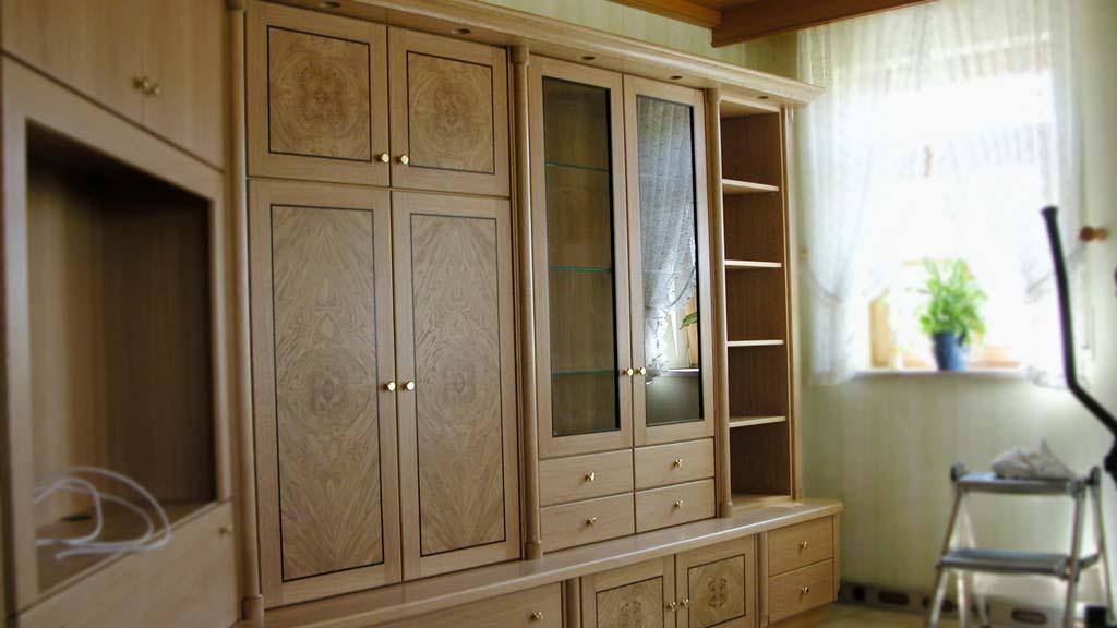 wohn und schlafzimmer schreinerei loskarn. Black Bedroom Furniture Sets. Home Design Ideas